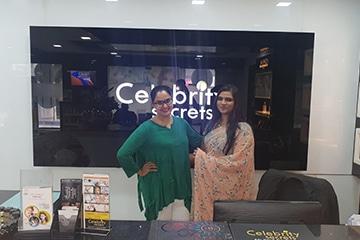 Celebrity Secrets pragathi